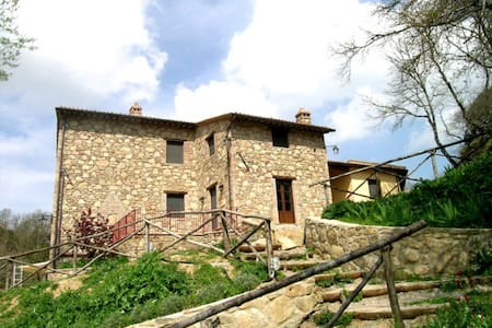 18th-cent. villa w/pool + terrace. - Panicale - Villa