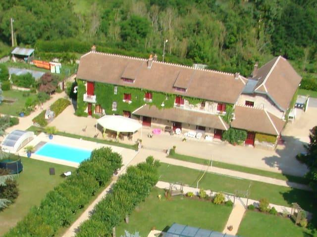 Gîte de la Marne (6 personnes) - Méry-sur-Marne - Apartamento
