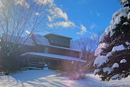Clarendon Springs B&B VT, Large Parties, 2-3 Rooms - West Rutland - Гестхаус