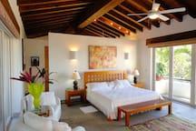 One of three bedroom suites