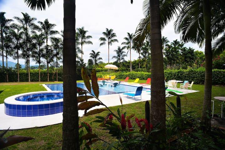 casa vacaciones eventos Santagueda