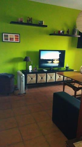 Habitación privada/tv, acogedora y tranquila