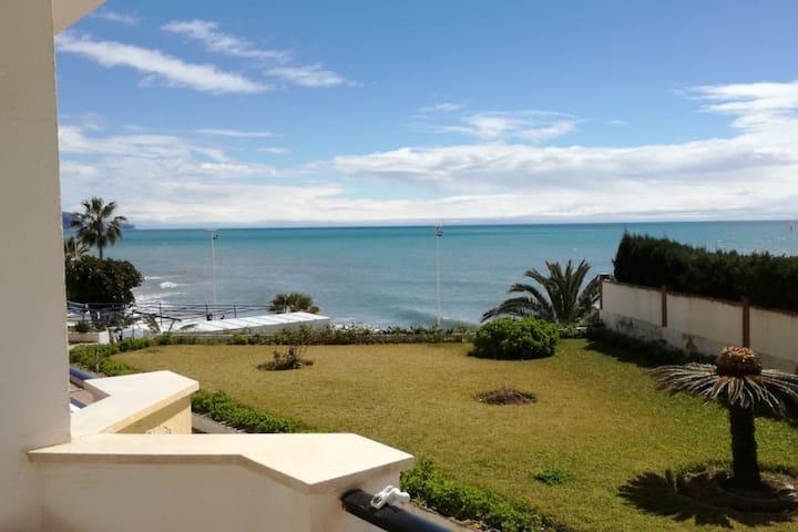Apartamento a pie de playa.