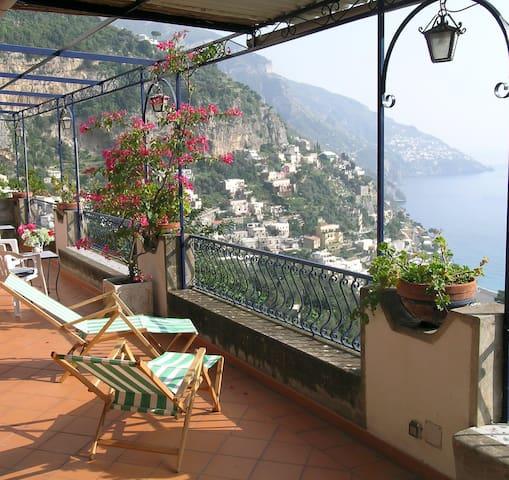"""POSITANO """"Villa Borgo Fiorito"""" VIEW - Praiano - Hus"""