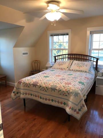 New queen-size Mattress in bedroom two