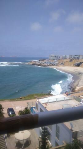 Departamento vista mar para relajarse en playa - Distrito de Lima - Departamento