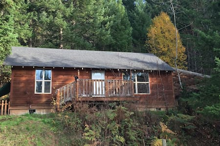 Cabin in the Woods - White Salmon