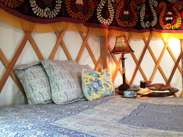 Yurt Vacation on a Family Farm in Floyd, Virginia