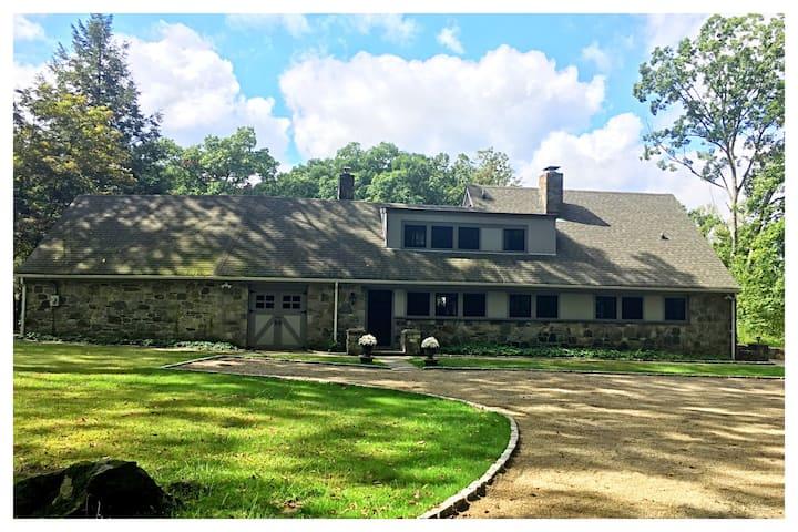 Entire Guest House at Fox Pond Farm.