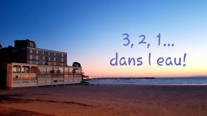 Studio sur la plage : idéal pour couples !
