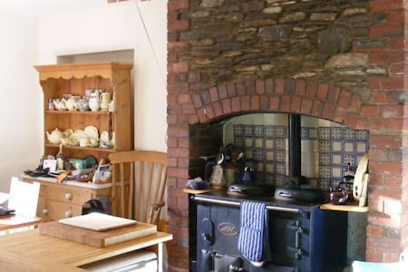 Cosy Autumn at Serene hamlet by Coniston Water
