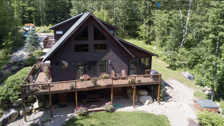 Fisherman's Paradise: Secluded, Waterfront Chalet