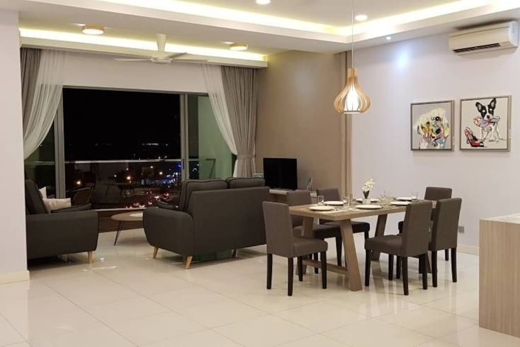 spacious and cosy living area