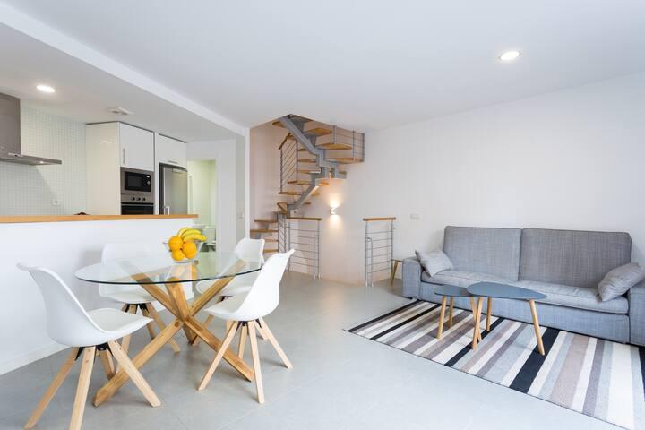 beach front apartment/Apartamento en primera linea