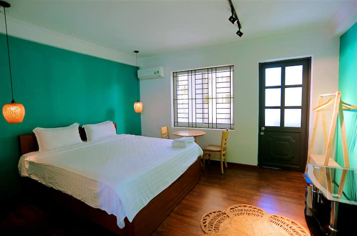 T&M House Nha Trang - Double Room with Balcony 03