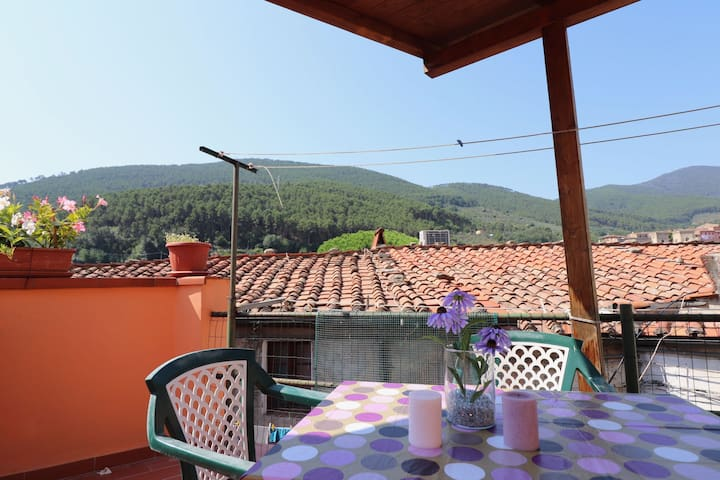 Home with terrace and parking near Pisa