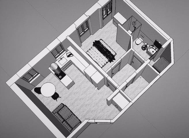 Bilocale Minimal KOKO TINY HOUSE