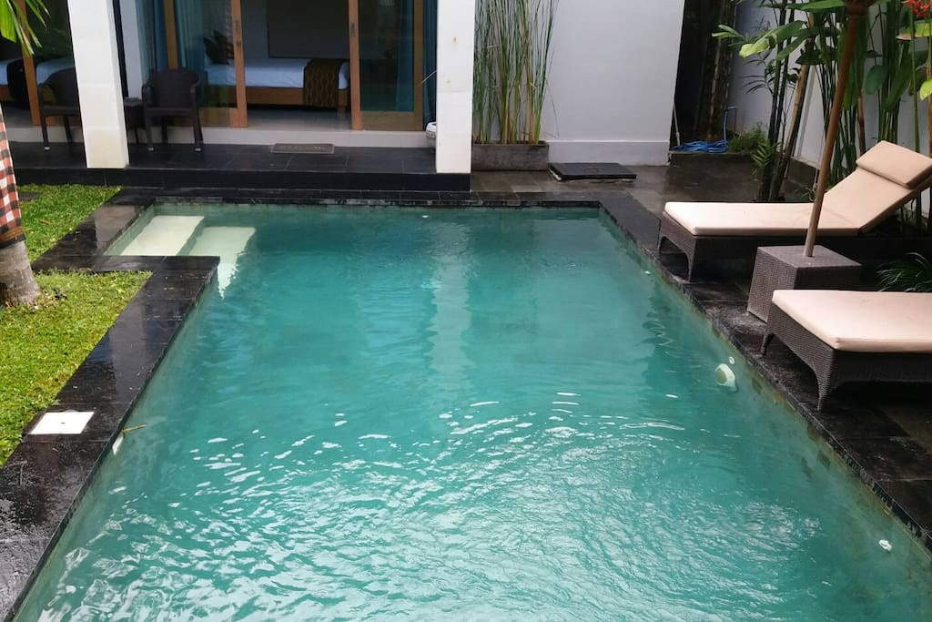 Your very own private pool!