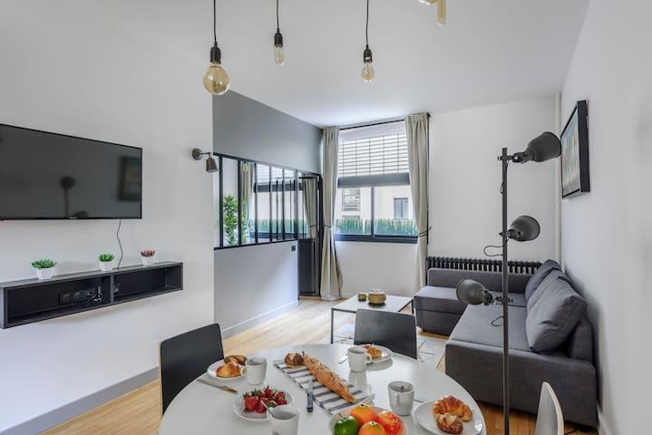 Appartement design Concorde - Faubourg St Honoré