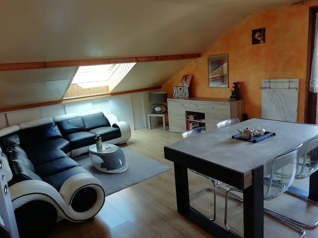 Appartement Meublé avec sauna