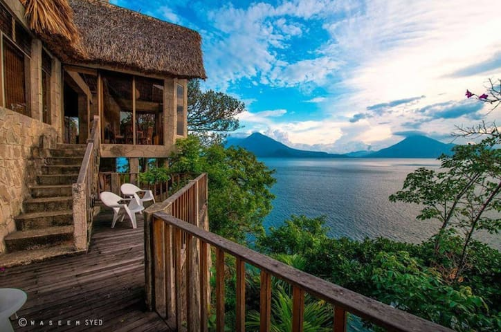 Romantic Escapade in Lake Atitlan - Panajachel - Dům