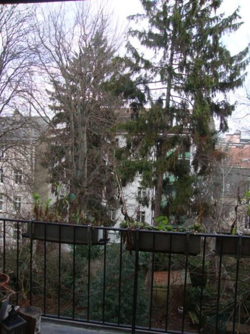 Aussicht vom Balkon Schlafzimmer 1