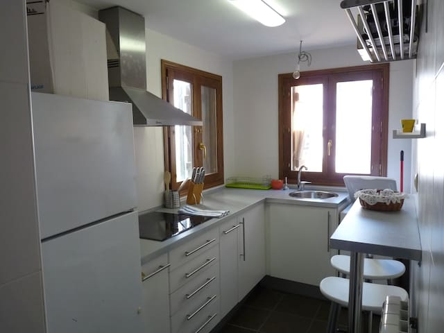 Apto. Rural Borau (10 min de Jaca) - Borau - Wohnung