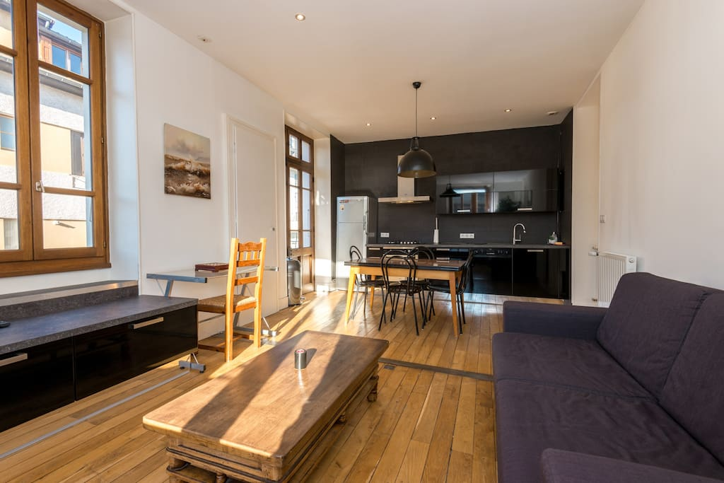 Annecy center charming 2 bedroom