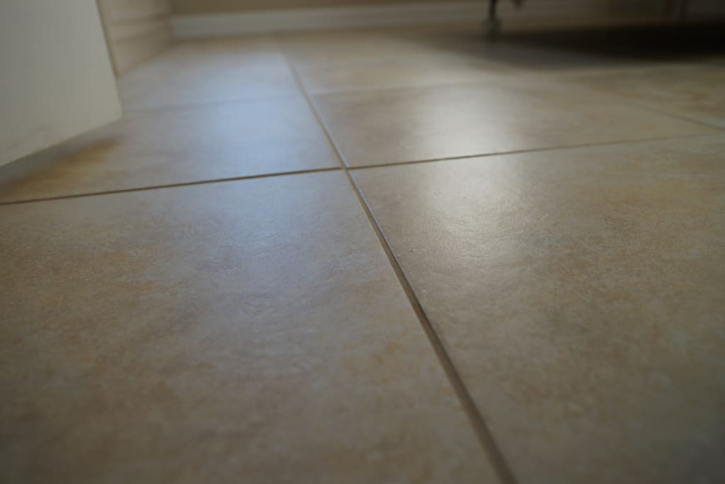 Clean Porcelain Tile Throughout