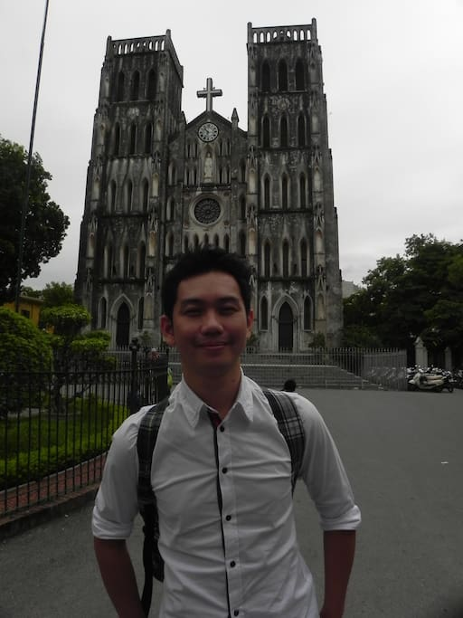 Saint Joseph Cathedral -In Hanoi