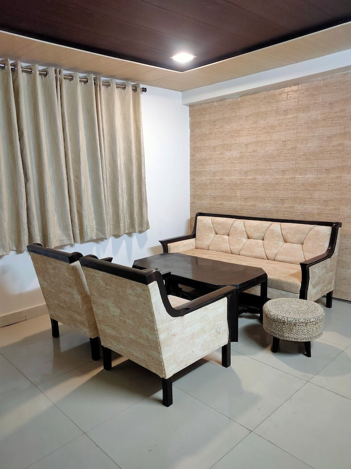 Full privacy with excellent rooms , car parking