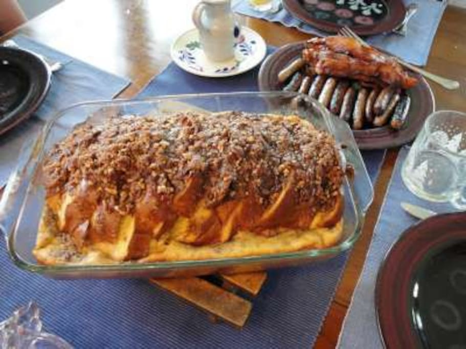 Baked Challah French Toast is one of the signature dishes!
