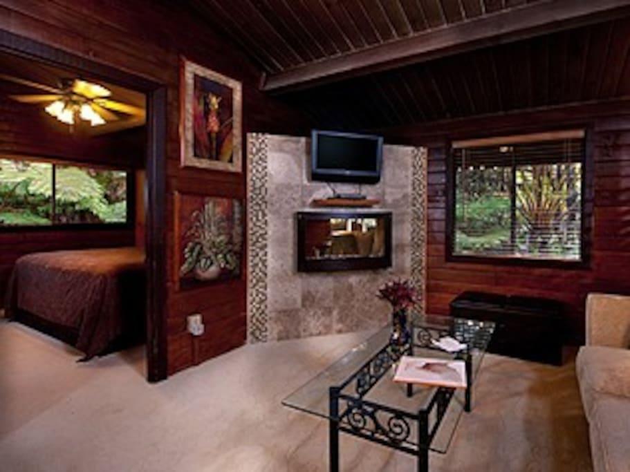 Zen flames wall mounted fireplace