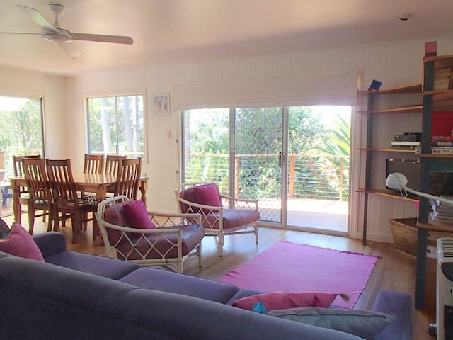 Bright and breezy open plan living