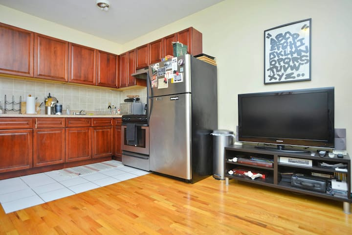 Entire 1 Bedroom Apartment Flat Historic Bedstuy