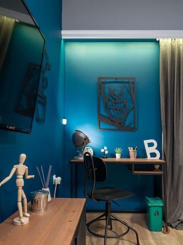 Living Room / Working Desctop