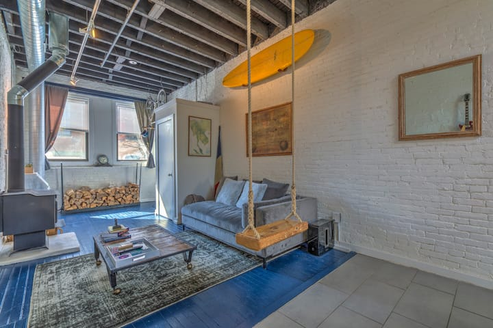 The Candy Loft | Fishtown Philly | Loft Apartment