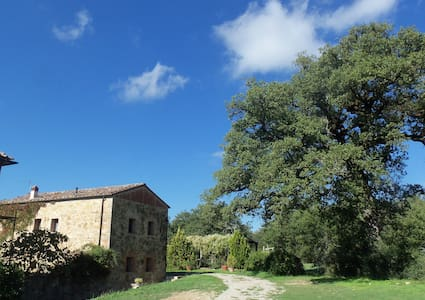 A beautiful old Haybarn near Siena - Montalto, Castelnuovo Berardenga - 一軒家