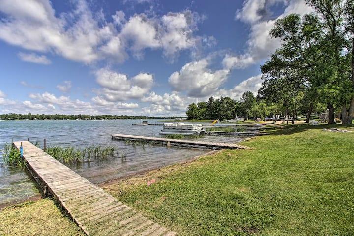 NEW! Lakefront Retreat w/Boat Rentals, Beach & Bar