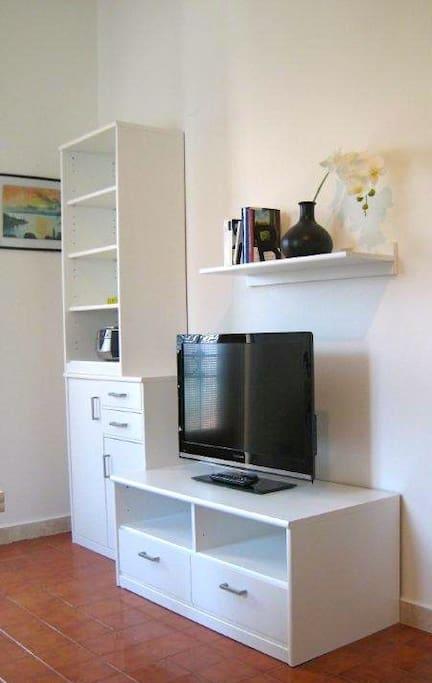 TV im Wohn-/Esszimmer