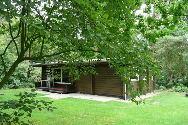 Finse bungalow op Vakantiepark