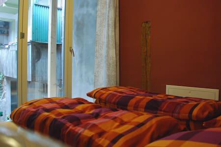 Doppelzimmer im Hostel Tabakhuesli - Rheinfelden