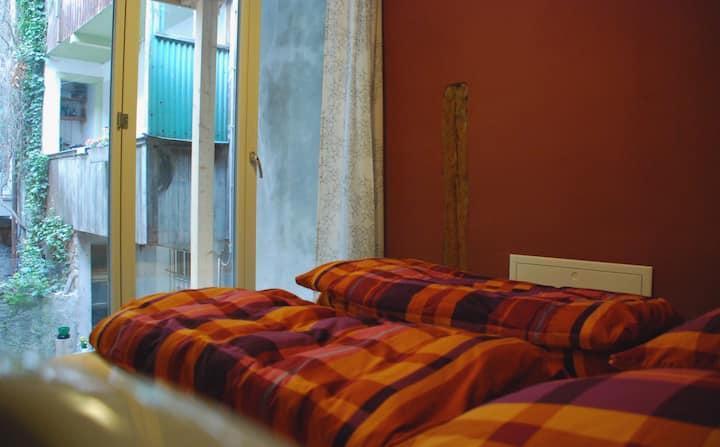 Doppelzimmer im Hostel Tabakhuesli