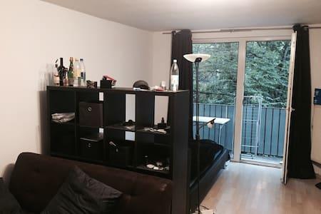 Ein Apartment mitten in Frankfurt - Lägenhet