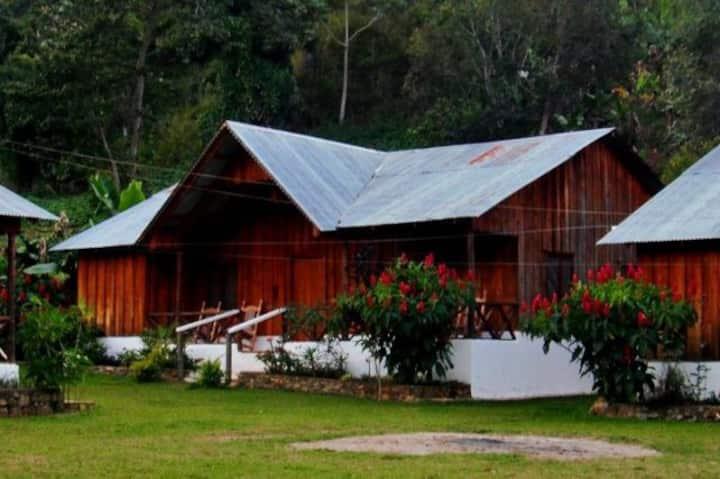Cabaña Rustica en la Montaña