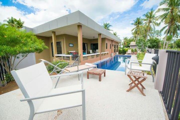 2 Br, Private Pool Villa Near Beach - Pak Nam Pran - Casa de camp