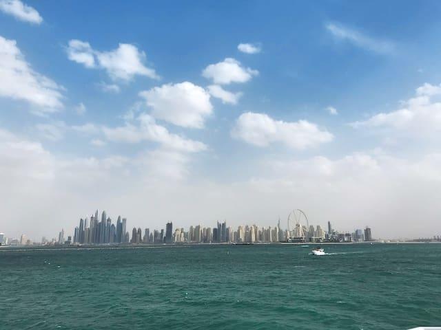 Perfect Staycation - Big Balcony & Marina View