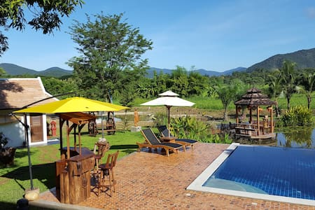 Rice and Zen Boutique Resort - Bamboo Villa - Doi Saket