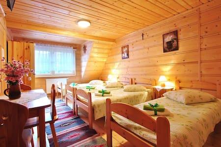 Przytulny drewniany domek na wsi - Nowy Targ County