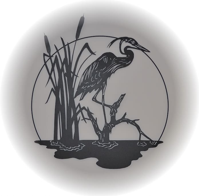 The Heron's Nest in Mitchell, Ontario logo.